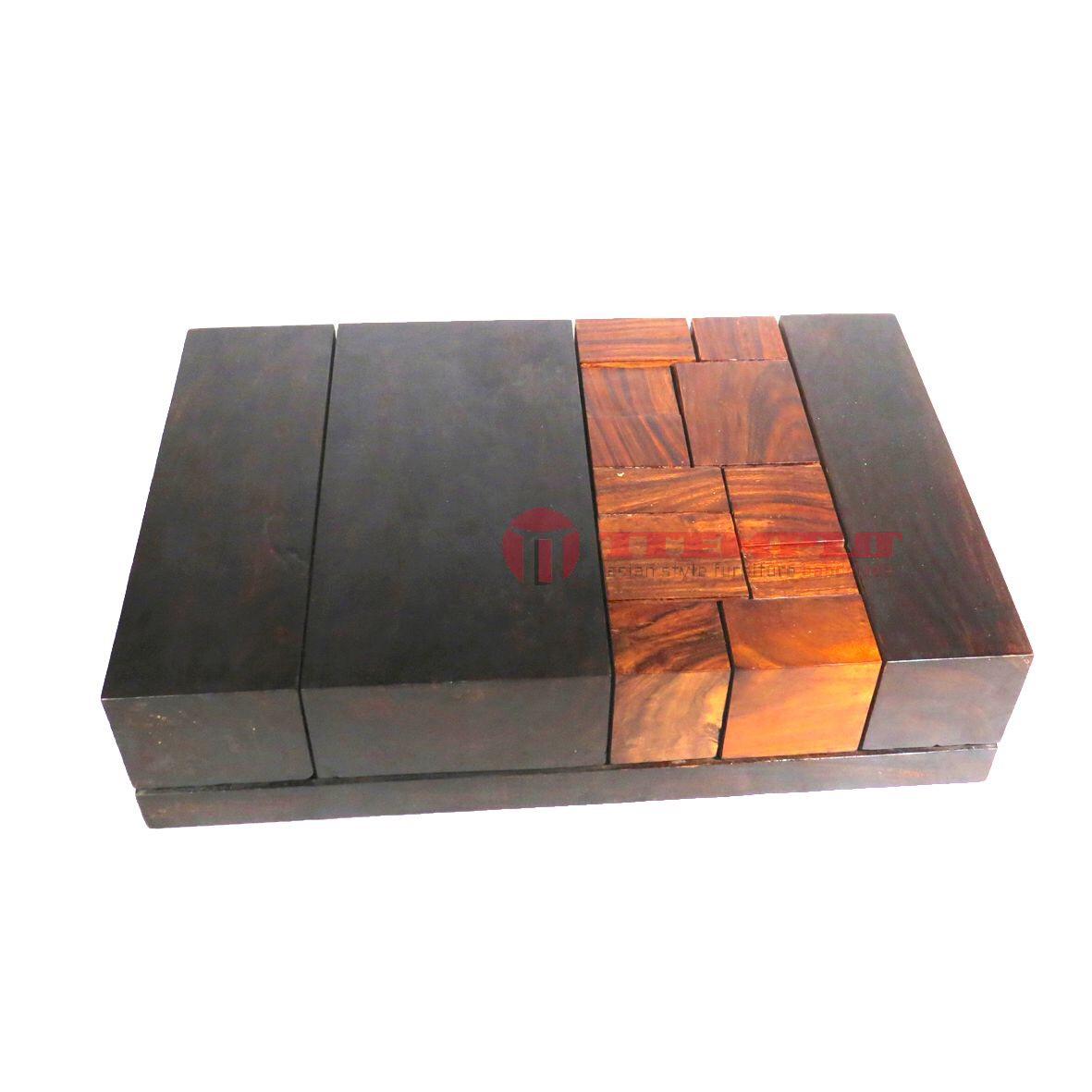 Mesa Zen teca maciza