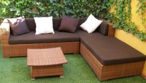 muebles fibras sinteticas