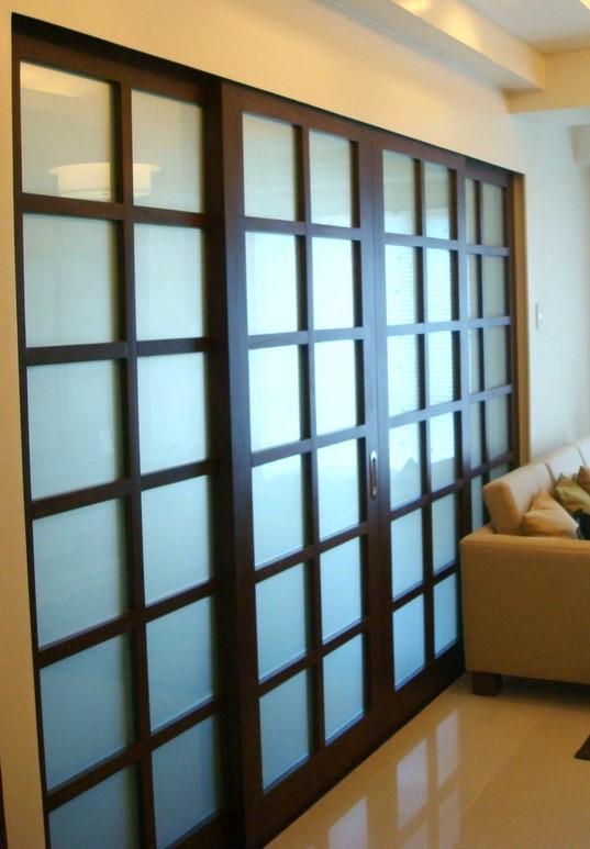 armario panel japones