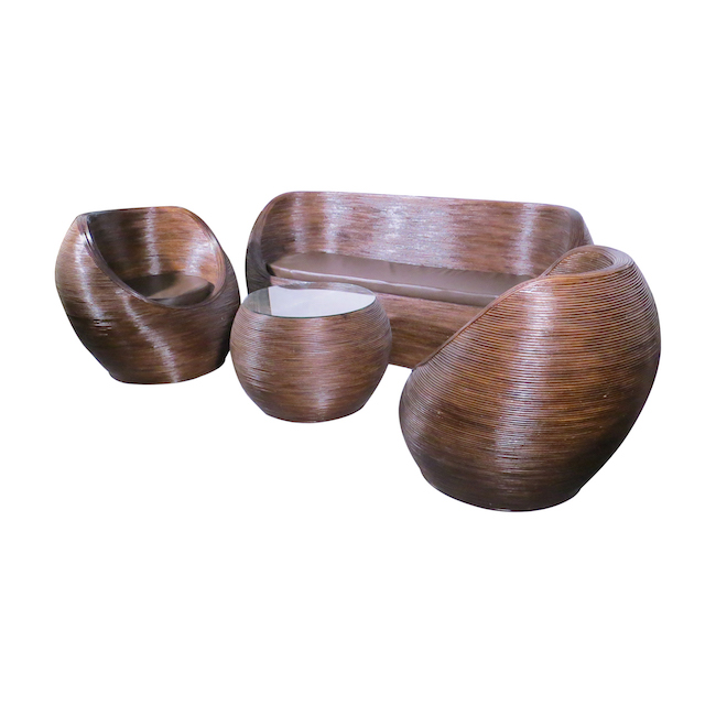 conjunto de fibra natural
