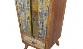fabricada en madera de barca reciclada