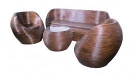 sofas fabricados en fibra natural